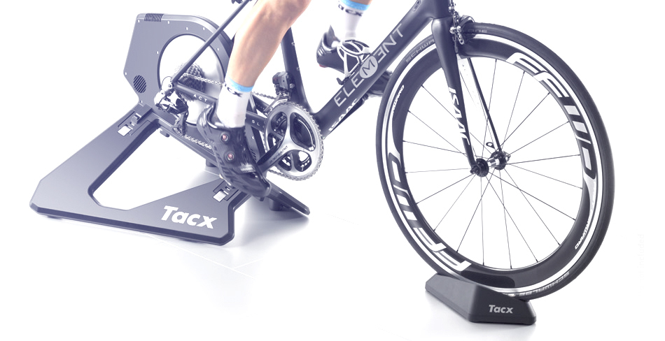 Plastics for the award-winning Tacx bicycle trainer